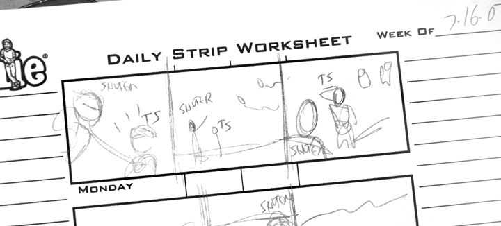 How I Draw a Comic Strip – Comic Strip Worksheet